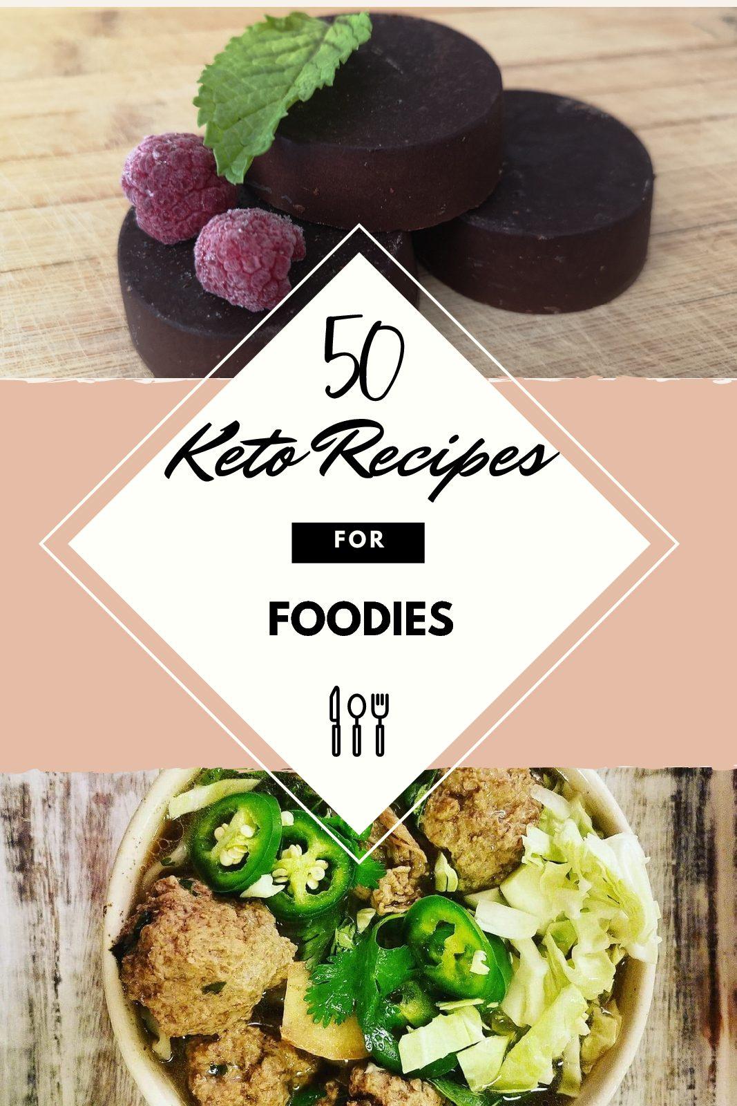 50 Keto Recipes for Foodies-Digital Download - Sandi Korshnak