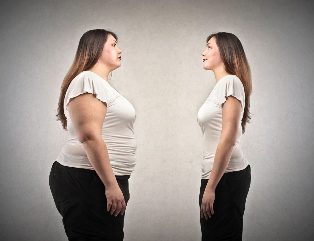 extra weight around the belly can be a sign of insulin resistance