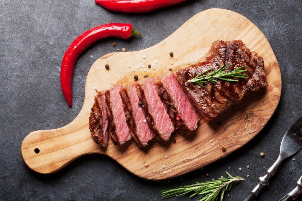 steak is a great meal choice for a keto diet