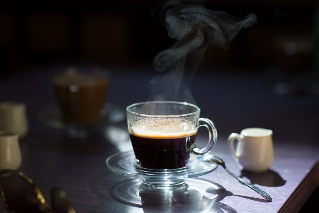 black coffee goes great with a keto diet