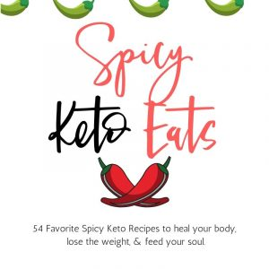 Spicy keto cookbook