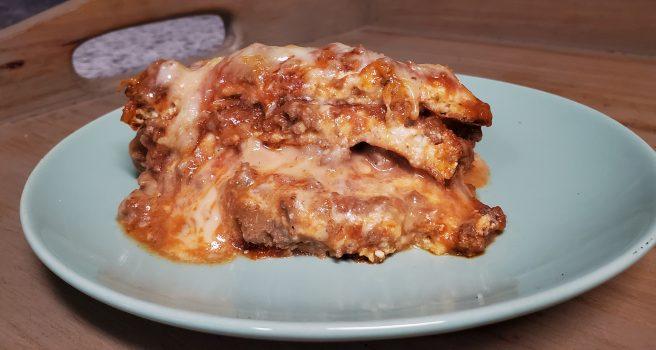 Keto Lasagna Noodles